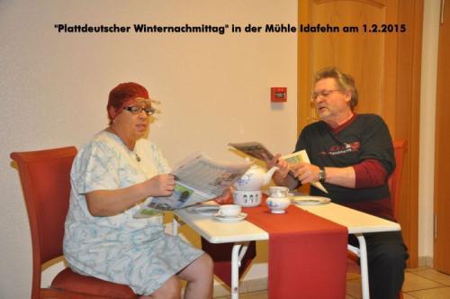2015 - Plattdeutscher Winternachmittag